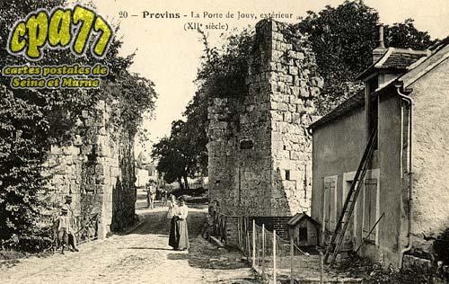 Provins - La Porte de Jouv, extérieur (XIIe siècle)