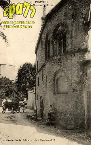 Provins - La Maison Romane (XIIe siècle)