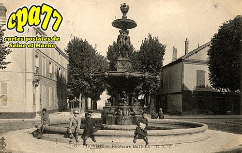 Provins - Fontaine Battelin