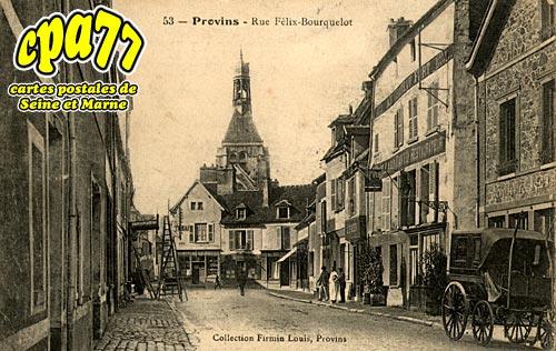 Provins - Rue Félix-Bourquelot