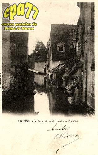 Provins - Le Durteint, vu du Pont aux Poissons