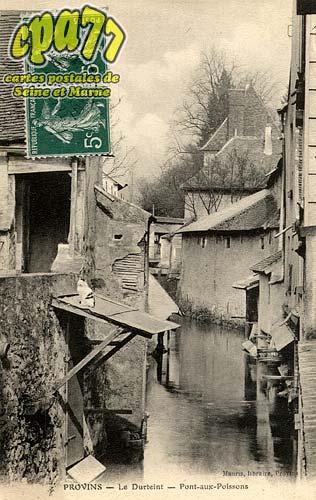 Provins - Le Durteint -Pont-aux-Poissons