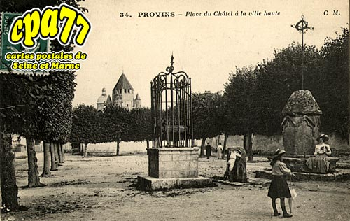 Provins - Place du Châtelet