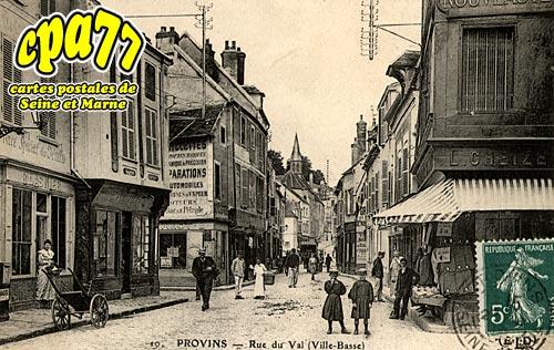 Provins - Rue du Val (Ville Basse)