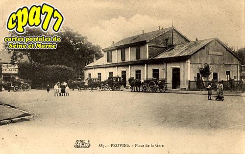 Provins - Place de la Gare