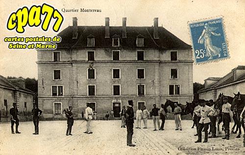 Provins - Quartier Montereau