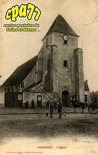Puisieux - L'Eglise