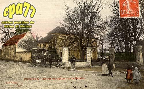 Puisieux - Entrée du Château de la Bataille