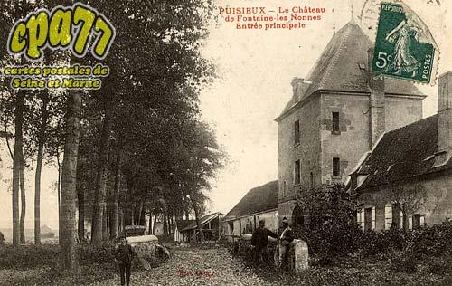 Puisieux - Puisieux - Le Château de Fontaine les Nonnes - Entrée principale