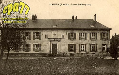 Puisieux - Puisieux - Ferme de Champfleury