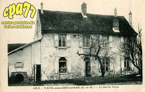 Puisieux - Vaux-sous-Coulombs - La Mairie Ecole