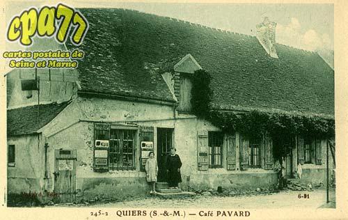 Quiers - Café Pavard