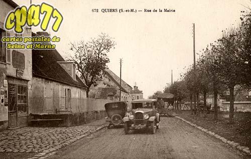 Quiers - Rue de la Mairie