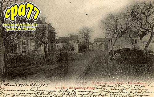 Quincy Voisins - Un coin de Quincy-Ségy