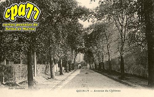 Quincy Voisins - Avenue du Château