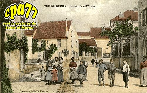 Quincy Voisins - Le Lavoir et l'Ecole