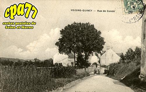 Quincy Voisins - Rue de Condé
