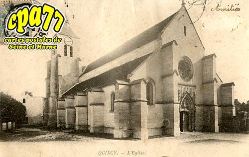 Quincy Voisins - L'Eglise