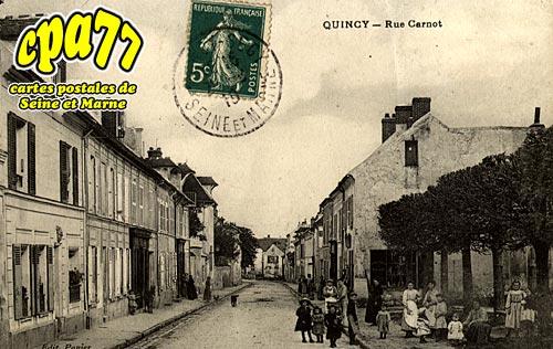 Quincy Voisins - Rue Carnot