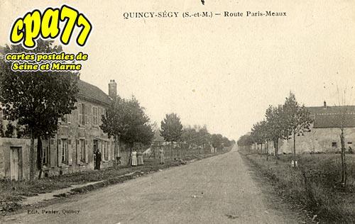 Quincy Voisins - Route Paris-Meaux