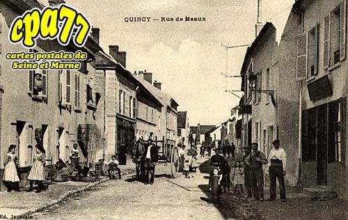 Quincy Voisins - Rue de Meaux