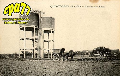 Quincy Voisins - Bassins des Eaux