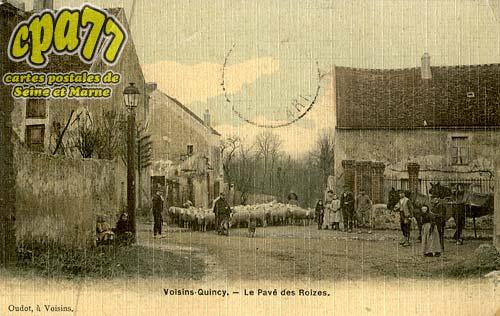 Quincy Voisins - Le Pavé des Roizes