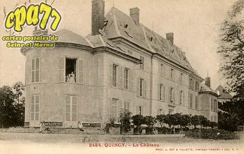 Quincy Voisins - Le Château