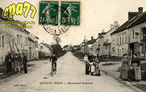 Quincy Voisins - Boulevard  National