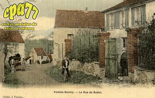 Quincy Voisins - La Rue de Buttel