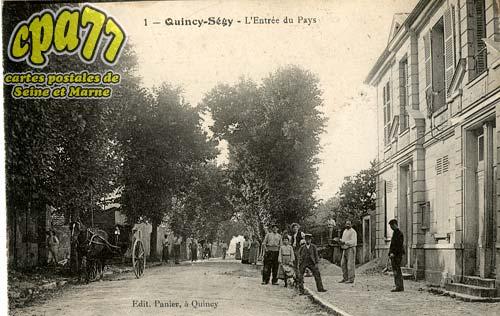 Quincy Voisins - L'Entrée du Pays