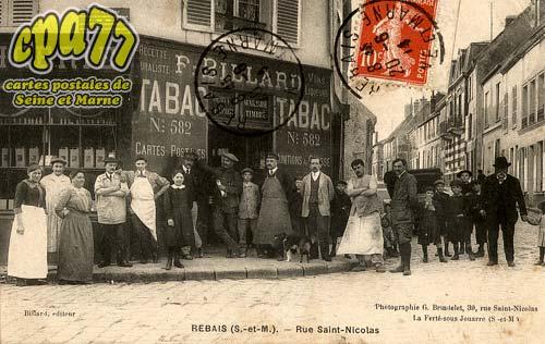 Rebais - Rue Saint-Nicolas