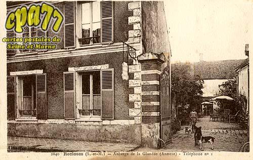 Recloses - Auberge de la Glandée (Annexe) - Téléphone n°1