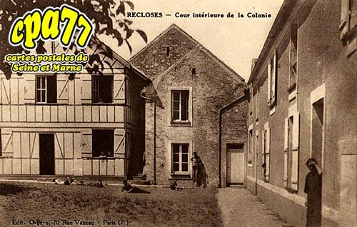 Recloses - Cour intérieure de la Colonie