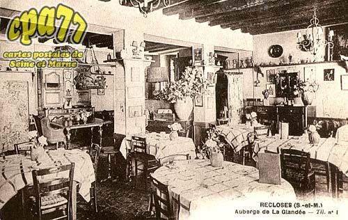 Recloses - Auberge de la Glandée