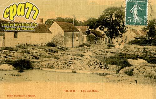 Recloses - Les Canches