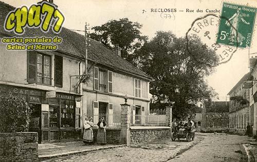 Recloses - Rue des Canches