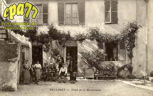 Recloses - Hôtel de la Renaissance