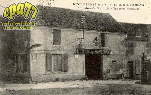 Recloses - Hôtel de la Renaissance - Pension de Famille - Téléphone 3 Recloses
