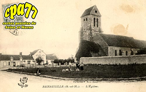 Remauville - L'Eglise