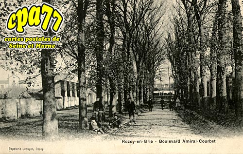 Rozay En Brie - Boulevard Amiral-Courbet