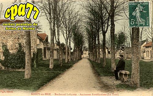 Rozay En Brie - Boulevard Lafayette - Anciennes Fortifications (La Tour)