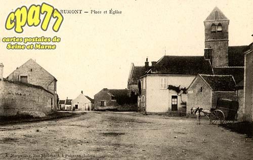 Rumont - Place et Eglise