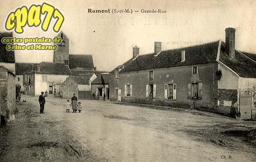 Rumont - Grande-Rue
