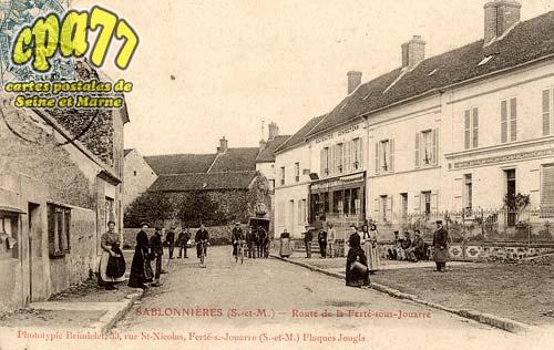 Sablonnières - Route de la Ferté-Sous-Jouarre