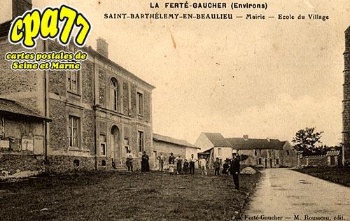 St Barthélémy - Mairie - Ecole du Village