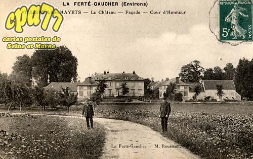 St Barthélémy - La Ferté-Gaucher (environs) - Le Château - Façade - Cour d'honneur