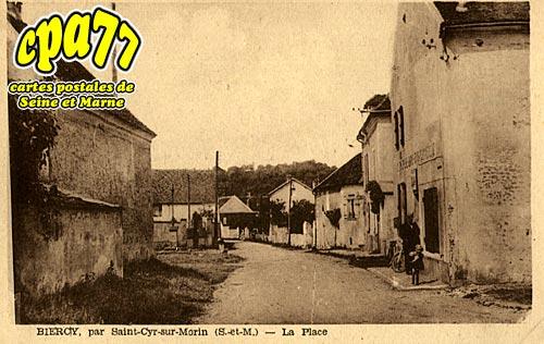 St Cyr Sur Morin - BIERCY Par Saint-Cyr-sur-Morin -La Place