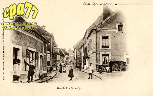 St Cyr Sur Morin - Grande Rue Saint-Cyr