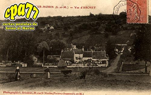 St Cyr Sur Morin - Vue d'Archet